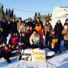 A dozen snow walkers, between 9 and 49 years of age, participated in a four day Kwe-ta-po-ha-kun Youth Camp near Fort Albany First Nation. Submitted photo